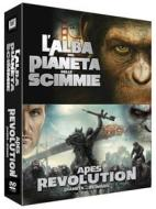 Il pianeta delle scimmie. 2-Pack. Alba. Revolution (Cofanetto 2 dvd)
