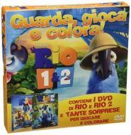 Rio 1 & 2. Guarda, gioca e colora (Cofanetto 2 dvd)