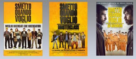 Smetto Quando Voglio Saga (3 Blu-Ray) (Blu-ray)