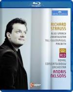Richard Strauss. Andris Nelsons. Also sprach Zarathustra... (Blu-ray)