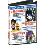 I maniaci - Ferragosto in bikini - Le diciottenni (Cofanetto 3 dvd)