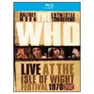 The Who. Live at Isle of Wight Festival 1970 (Blu-ray)