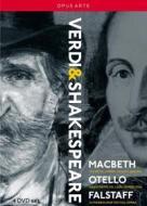 Giuseppe Verdi. Verdi & Shakespere: Macbeth, Otello, Falstaff (4 Dvd)