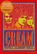 Cream. Royal Albert Hall. 2,3,5,6 May 2005 (2 Dvd)
