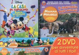 La casa di Topolino. Superavventure a crepapelle - Mamma Mirabelle. Vol. 7 (Cofanetto 2 dvd)