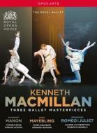 Kenneth Macmillan - Three Ballet Masterpieces (4 Dvd)