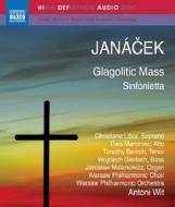 Leos Janacek - Glagolitic Mass / Sinfonietta (Blu-Ray Audio) (Blu-ray)