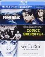 Adrenalina. Point Break. Codice Swordfish. Witheout (Cofanetto 3 blu-ray)