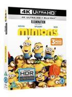 Minions (Blu-Ray 4K Ultra HD+Blu-Ray) (Blu-ray)