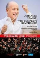Johannes Brahms - Samtliche Sinfonien (3 Dvd)