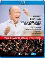 Johannes Brahms - Samtliche Sinfonien (Blu-ray)