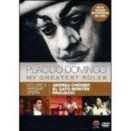 Placido Domingo. My Greatest Roles Vol. 4 (Cofanetto 4 dvd)
