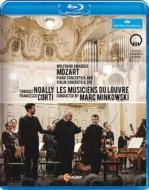 Wolfgang Amadeus Mozart. Piano Concerto K. 488. Violin Concerto K. 219 (Blu-ray)