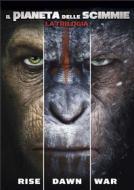 Il Pianeta Delle Scimmie - La Trilogia (3 Dvd)
