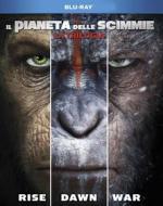 Il Pianeta Delle Scimmie - La Trilogia (3 Blu-Ray) (Blu-ray)