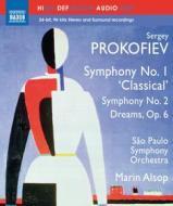 Sergei Prokofiev - Sinfonie Nn.1 E 2 - Alsop Marin Dir /orchestra Sinfonica Di Sao Paulo (Blu-ray)