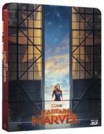 Captain Marvel (Steelbook) (Blu-Ray 3D+Blu-Ray) (Blu-ray)