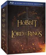 Lo Hobbit Trilogy. Il Signore degli anelli Trilogy (Cofanetto blu-ray e dvd)