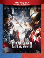 Captain America. Civil War 3D (Cofanetto 2 blu-ray)
