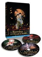 La Tomba Delle Lucciole (Steelbook) (2 Dvd+Blu-Ray)
