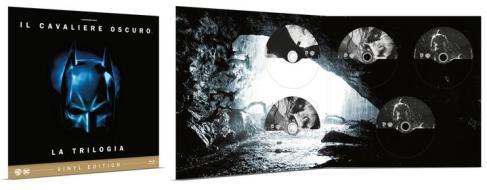 Il Cavaliere Oscuro - La Trilogia Vinyl Edition (5 Blu-Ray) (Blu-ray)
