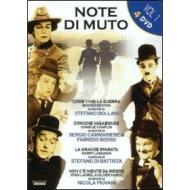 Note di muto. Vol. 1 (Cofanetto 4 dvd)