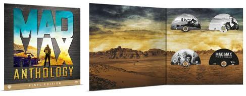 Mad Max Anthology Vinyl Edition (4 Blu-Ray) (Blu-ray)