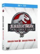 Jurassic Park. Jurassic World 3D (Cofanetto 4 blu-ray - Confezione Speciale)