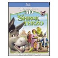 Shrek terzo. 3D (Cofanetto blu-ray e dvd)
