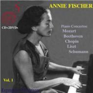 Annie Fischer - Piano Concertos Vol.1 (2 Dvd+Cd)
