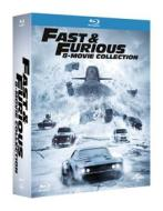 Fast And Furious - 8 Movie Collection (8 Blu-Ray) (Blu-ray)