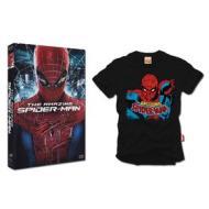 The amazing Spider-Man + T-shirt esclusiva (colore nero taglia M)