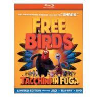 Free Birds. Tacchini in fuga 3D (Cofanetto blu-ray e dvd)