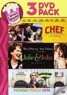 Julie And Julia / Mangia Prega Ama / Chef (3 Dvd)