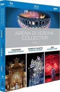 Puccini/Gounod/Verdi - Arena Di Verona Collection, Vol. 1 (3 Blu-Ray) (Blu-ray)