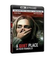 A Quiet Place - Un Posto Tranquillo (Blu-Ray 4K Ultra Hd+Blu-Ray) (2 Blu-ray)