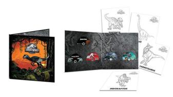 Jurassic Park - 5 Movie Vinyl Collection (5 Dvd+4 Art Cards)