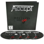 Accept - Restless & Live (4 Blu-Ray) (Blu-ray)