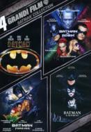 4 grandi film. Batman Collection (Cofanetto 4 dvd)