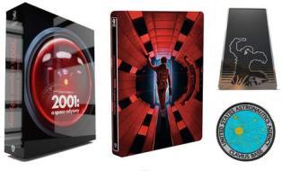 2001: Odissea Nello Spazio (Titans Of Cult) (4K Ultra Hd + 2 Blu-Ray) (3 Blu-ray)