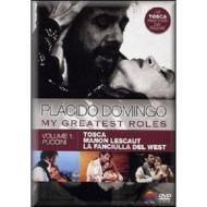 Placido Domingo. My Greatest Roles Vol. 1 (Cofanetto 3 dvd)