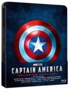 Captain America Trilogy (3 Blu-Ray) (Steelbook) (Blu-ray)