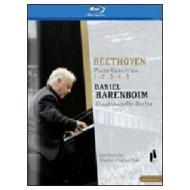 Daniel Barenboim. Beethoven Piano Concertos 1 - 5 (Blu-ray)