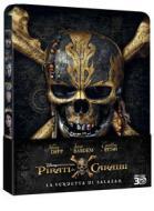 Pirati Dei Caraibi - La Vendetta Di Salazar (3D) (Ltd Steelbook) (Blu-Ray 3D+Blu-Ray) (Blu-ray)