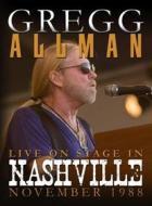 Gregg Allman - Live On Stage In Nashville