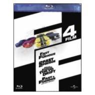 The Fast & The Furious Boxset (Cofanetto 4 blu-ray)