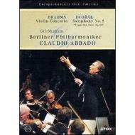 """Claudio Abbado. Brahms, Violin Concert. Dvorak, Symphony No. 9, """"From New World"""""""