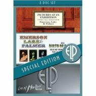 Emerson, Lake & Palmer. Pictures At An Exhibition. Birth Of A Band. Live A (Cofanetto 3 dvd)