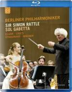 Berliner Philharmoniker. Sir Simon Rattle. Sol Gabetta (Blu-ray)