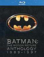 Batman. The Motion Picture Anthology (Cofanetto 4 blu-ray)